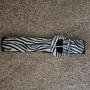 Accessories - Wide Zebra Belt